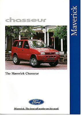 FORD MAVERICK CHASSEUR BROCHURE 1994 NEVER LEFT SHOWROOM