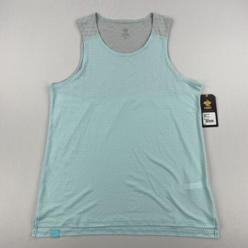 Rabbit Womens Running Liberty Tank Top Limpet Shell Size Large