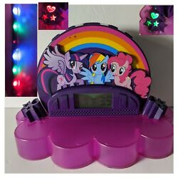 My Little Pony Alarm Clock Radio/ Night Light Projector/ Aux In Android Speaker
