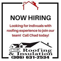 Roofing and Construction Crew Supervisor