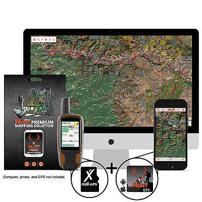 OnXmap Hunt FLORIDA Prem. Map for Garmin GPS   Hunting GPS Maps   MicroSD Card