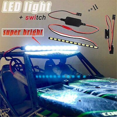 Light Bar-schalter (LED Metal Light Lamp Bar Schalter Kit für 1/10 RC Axial Wraith 90018 90020 90045)