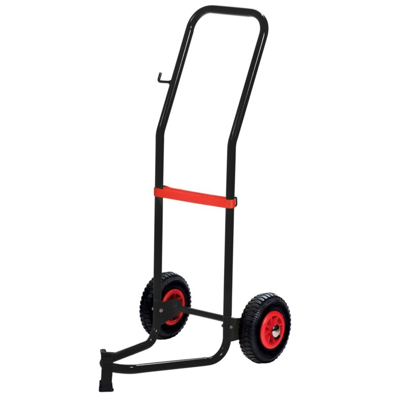 Wolflube Trolley for 35 - 120 lbs Drums - 2 Pneumatic Wheels