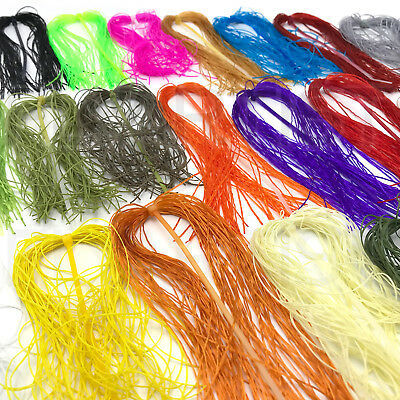 LIFE FLEX - Hareline Fly Tying Spandex Rubber Leg & Body Material in 20+ Colors!