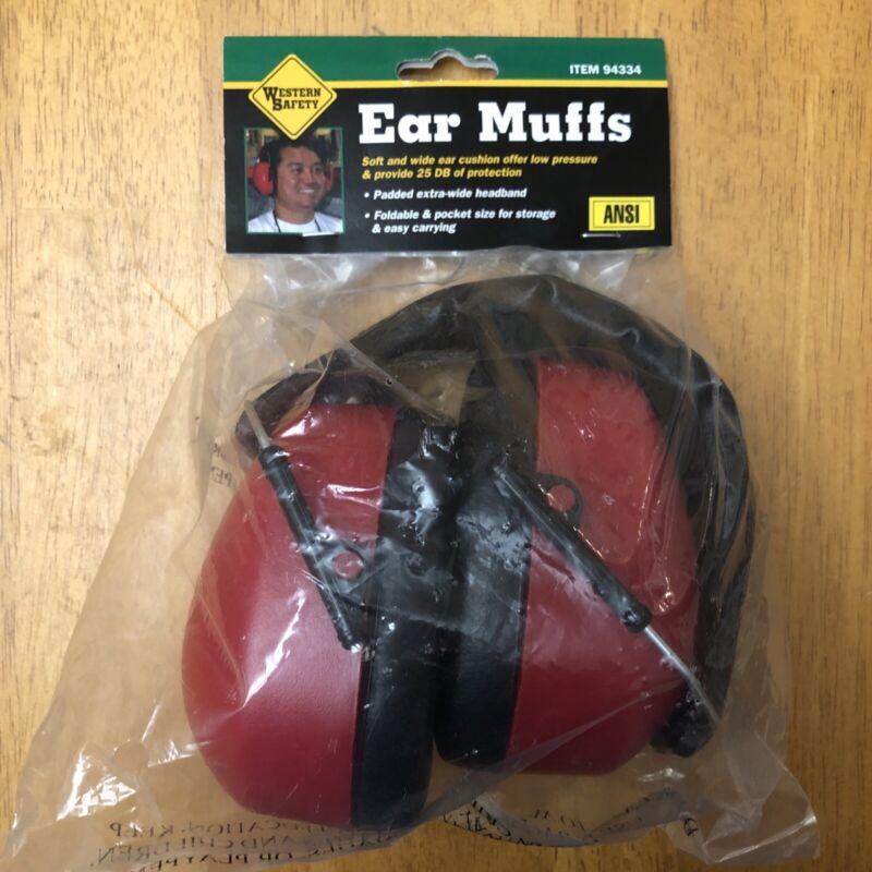 Foldable Ear Muffs Western Safety 94334