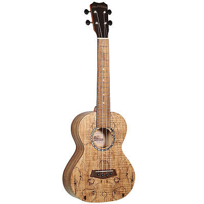 Islander By Kanilea MAC-4 Tenor Ukulele With Spalted Maple Top, Natural Satin - $249.99