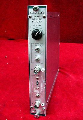Tennelec Tc 611 Baseline Restorer Nim Bin Plug-in Module Tc611