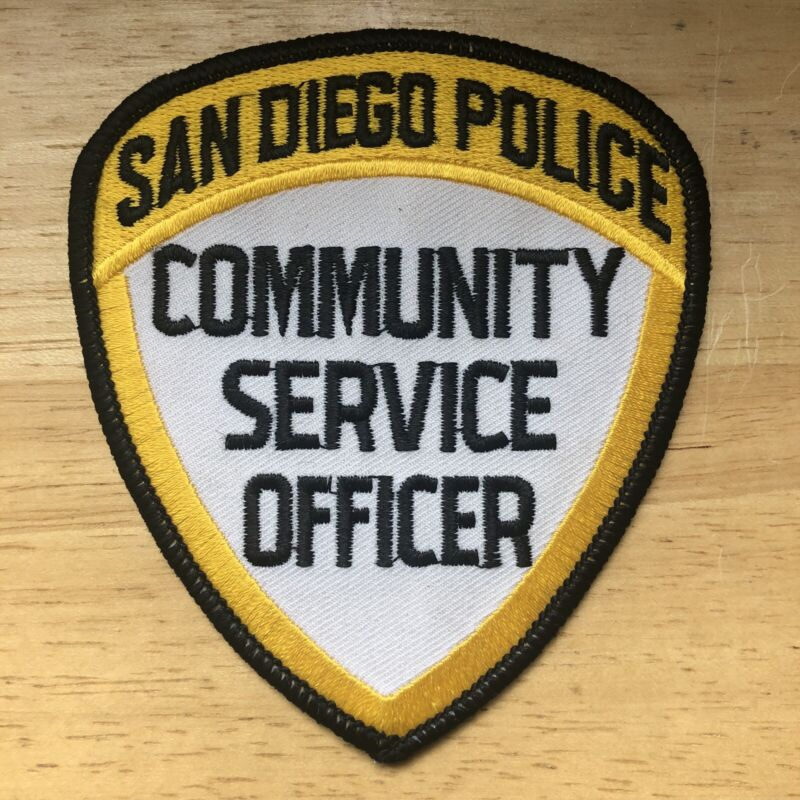 San Diego CA Police Community Service Officer Patch