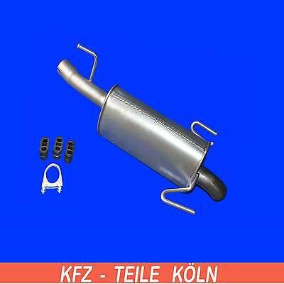 VAUXHALL MERIVA - 1.7 DTi - 1.7 CDTI - Muffler Exhaust System + Assembly Kit