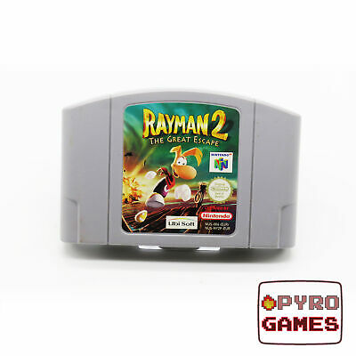Rayman 2: The Great Escape - Nintendo 64 - N64 - (Cartridge Only) - PAL