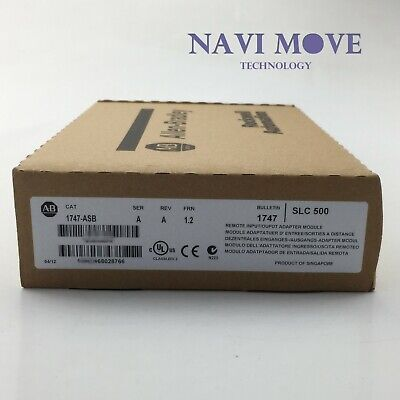 New Sealed Allen Bradley 1747-asb Slc500 Remote Adapter Plc Module 1747asb