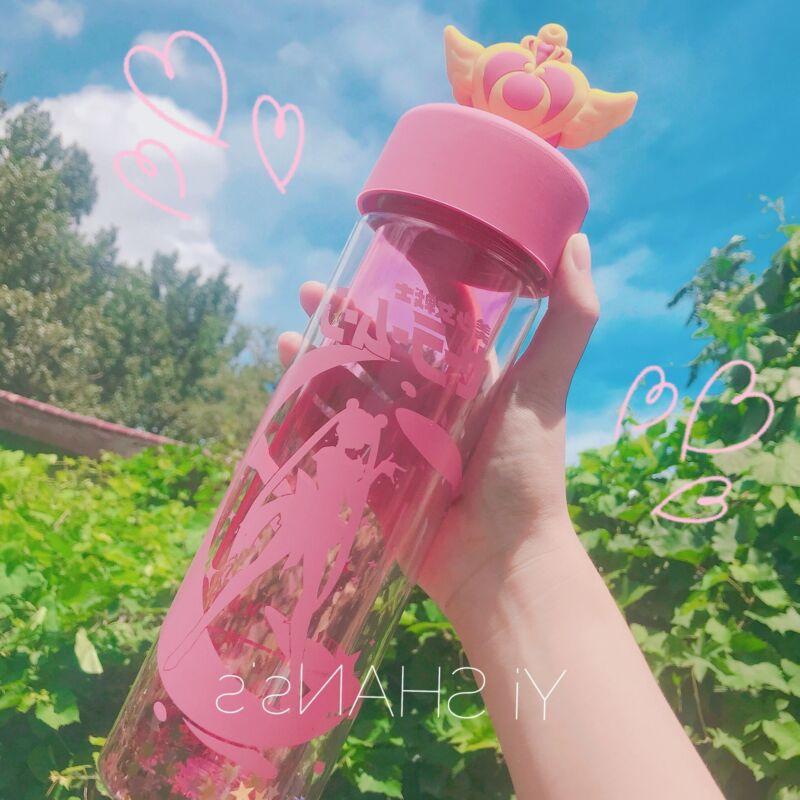 500ml Sailor Moon Anime Printed Tsukino Usagi Water Bottle Portable Drinking Mug