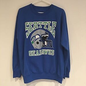 VTG CGW Inc. Seattle Seahawks Crewneck Sweatshirt