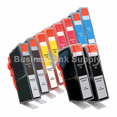 10 Pack 564xl Ink Cartridge For Hp Photosmart 7510 7520 7...