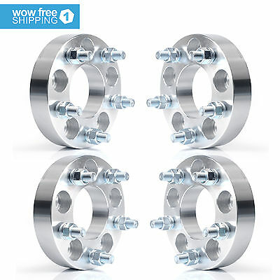 4 Wheel Spacers Adapters 5X4.5 to 5X4.75 | 1.25"