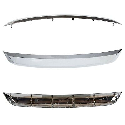 New Grille Trim Grill Lower Chrome For Ford Fusion 2010-2012 Chrome Lower Grille
