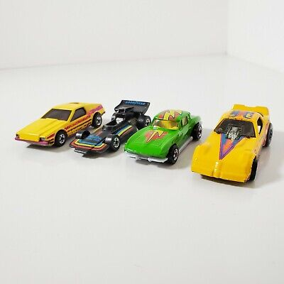 Vintage 1970's Hot Wheels Lot Of 4 Cars Loose