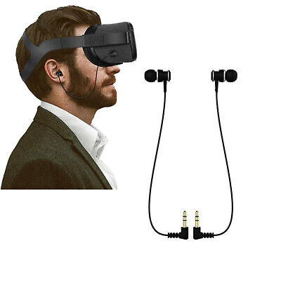 For Oculus Quest VR Headset VR Gaming In-ear Earbuds Wired Earphones Headphones