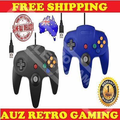 Nintendo 64 N64 USB Remote Controller Joystick For PC & Mac Windows