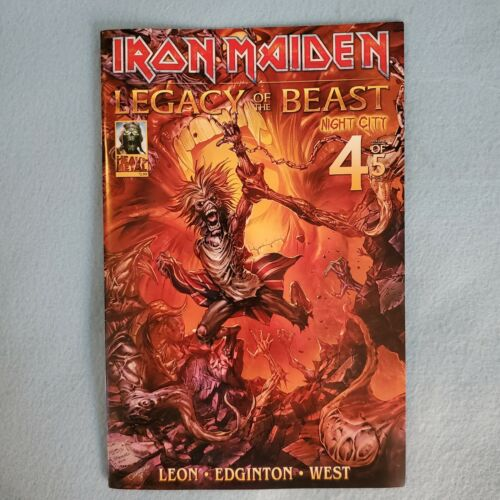 IRON MAIDEN - LEGACY OF THE BEAST / NIGHT CITY  VOLUME TWO  4 OF 5 COMIC 2020