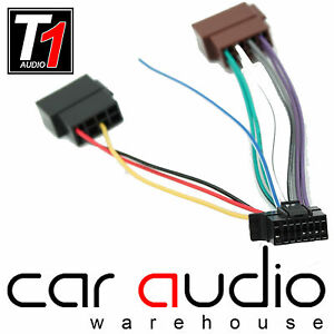 sony 16 pin 2013 onwards iso car stereo radio wiring harness cable adapter lead ebay