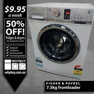 7.5kg Fisher Paykel frontloader washer Melbourne CBD Melbourne City Preview