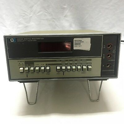 Hpagilent3465a Digital Multimeter Opt.01