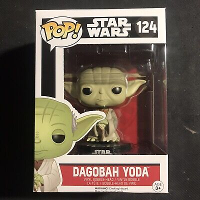 Funko POP! Star Wars #124 Dagobah Yoda Brand New In Box