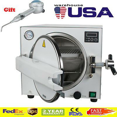18l Dental Autoclave Steam Sterilizer Medical Sterilizitionpolisher Handpiece