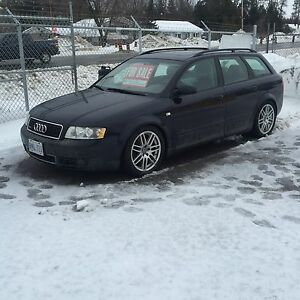 2003 Audi A4 Wagon 1.8 turbo  I am Back Sorry can now respond