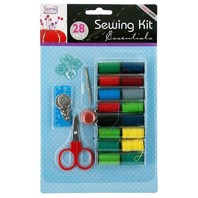 All-In-One Sewing Kit - Travel, Thread, Pins, Needles, Buttons - Free Shipping  for sale  Shipping to Nigeria