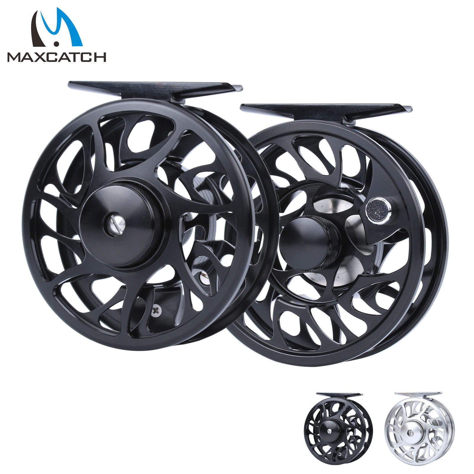 Waterproof Aluminum Fly Fishing Reel 5//6 WT Left//Right CNC Machined Fly Reel