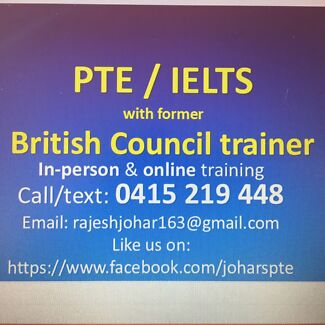 2-week PTE course with British Council (free assessment & trial class)