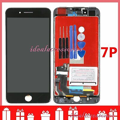 Black Replacement  For iPhone 7 Plus LCD Screen Touch Display Repair Part UK