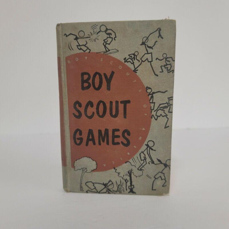BSA Boy Scout Games Hard Cover Book