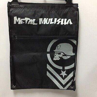 "Metal Mulisha Backpacks ""Cinch Sack"" --Color Black for sale  Shipping to India"