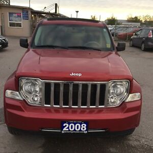 2008 Jeep Liberty Limited|Convertible|Leather|One Owner|No accid