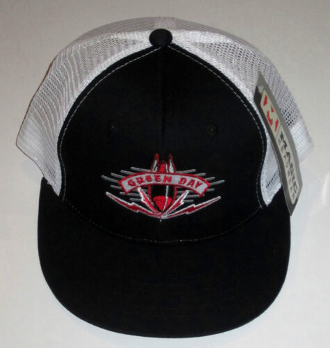GREEN DAY BOMB TRUCKER HAT/ CAP, PUNK ROCK