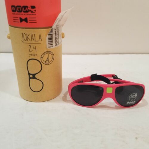 Ki Et la JOKALA  Pink Sunglasses for Ages 2-4 Years Toddler Kids Unbreakable NEW