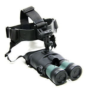 YUKON-TRACKER-NIGHT-VISION-1X24-NV-BINOCULAR-HEADSET-GOGGLE-PLUS-2X24-DOUBLER