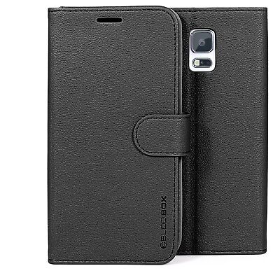 for Samsung Galaxy S5 Case BUDDIBOX PU Leather Card Slot Wallet Flip Cover Case