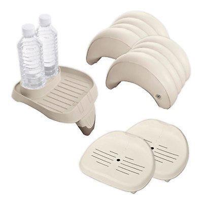 Spa Holder (Intex PureSpa Accessory Set: 1 Cup Holder, 2 Headrests, 2 Spa Seats )