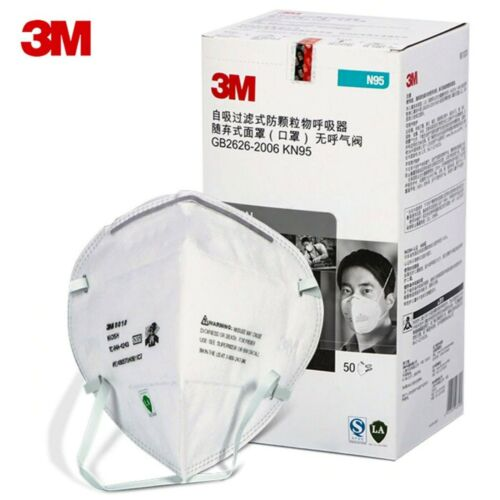 5/20PCS 3M 9010CN KN95 Particulate Respirator Face Mask Mouth cover