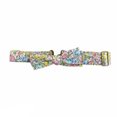Wunderkin Floral Adjustable Neck Bowtie