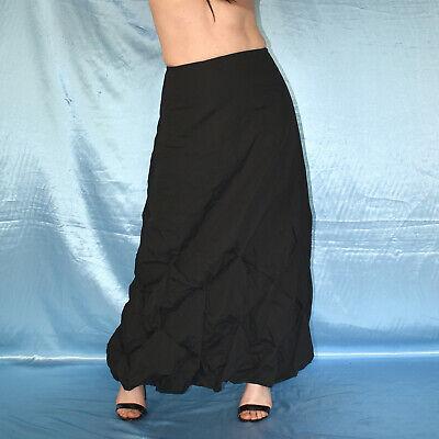 Gótico Negro Línea-a Falda de Verano * S Maxi *Partyrock* *Falda Baile segunda mano  Embacar hacia Spain