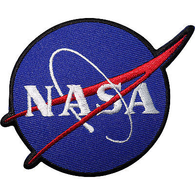 NASA Embroidered Iron / Sew On Patch Astronaut Fancy Dress Space Badge Transfer