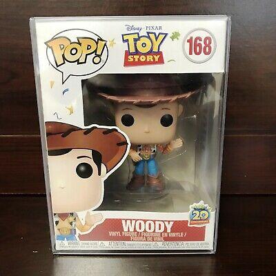 Funko POP Disney:Toy Story - Woody (new pose) #168 Vinyl Figure w/ Case