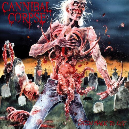 CANNIBAL CORPSE Eaten Back To Life BANNER HUGE 4X4 Ft Fabric Poster Flag art