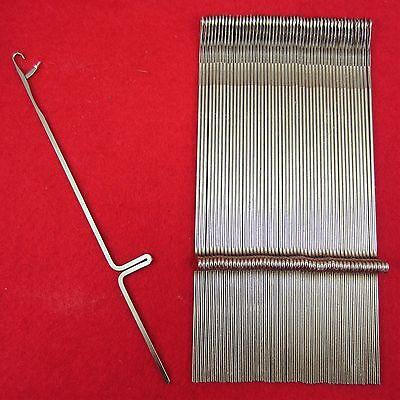 100 Nadeln Silverreed Strickmaschinen FRP-70 SRJ-80 knitting machine needles New