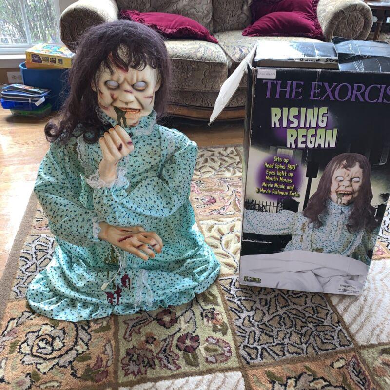 Exorcist Rising Regan Animatronic Spirit Halloween Prop Morbid Enterprises RARE